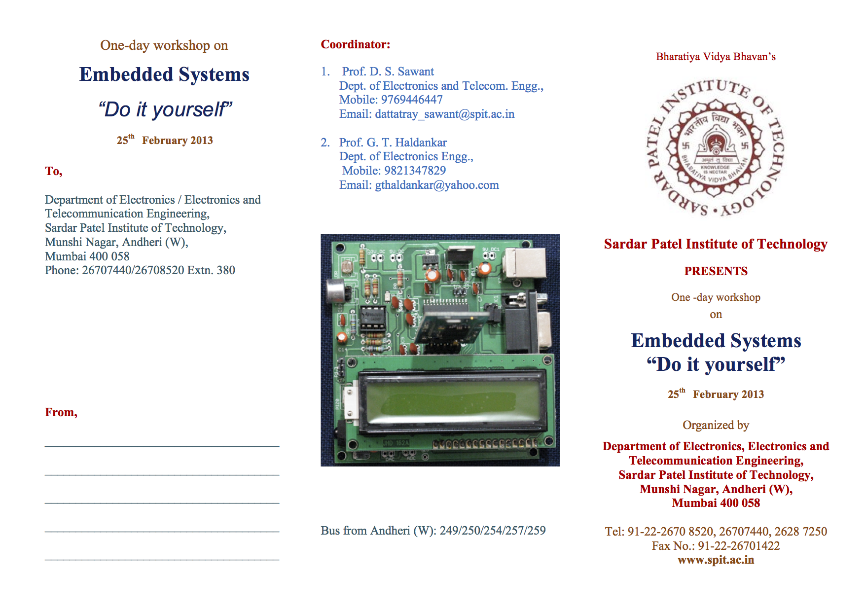 One day workshop on embedded systems do it yourself 25th february download embedded systems do it yourself brochure pdf solutioingenieria Gallery
