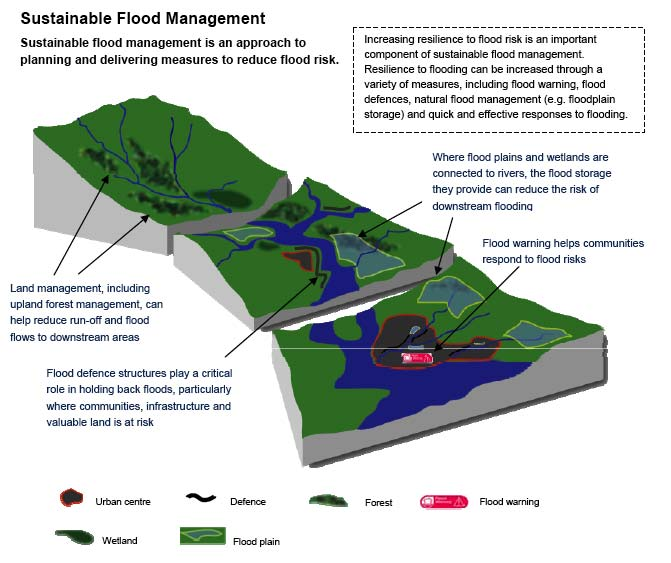 the causes of flood